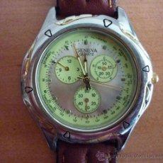Relojes: RELOJ GENEVA QUARTZ . Lote 36737818