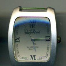 Relojes: RELOJ EN ALUMINIO VALENTIN RAMOS. PARA COLECCION. Lote 36758425