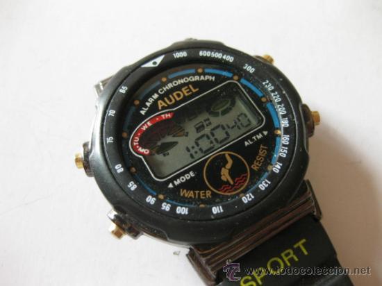 RELOJ DIGITAL DE CUARZO AUDEL - ALARM CHRONOGRAPH (Relojes - Relojes Actuales - Otros)