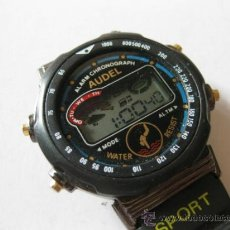 Relojes: RELOJ DIGITAL DE CUARZO AUDEL - ALARM CHRONOGRAPH. Lote 36790916