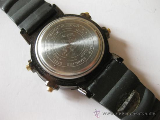 Relojes: RELOJ DIGITAL DE CUARZO AUDEL - ALARM CHRONOGRAPH - Foto 2 - 36790916