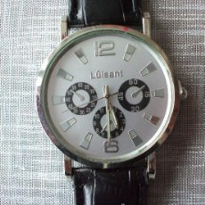 Relojes: RELOJ DE CABALLERO CON CORREA, A ESTRENAR.. Lote 37034883