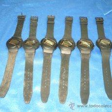 Relojes: LOTE DE 6 RELOJES SIN ESTRENAR ,SOLO NECESITAN LA PILA. Lote 37402982