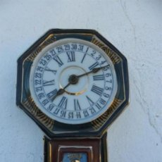Relojes: RELOJ DE PORCELANA SIN MAQUINARIA ANTIGUA ORIENTAL. Lote 37831562