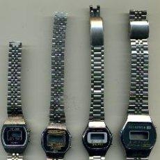 Relojes: CAJAS DE RELOJES CON PULSERA. Lote 37991283