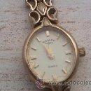 Relojes: ANTIGUO RELOJ ROTARY VENETO MADE IN SUISSE BAÑADO EN ORO. PARA SEÑORA. TODO ORIGINAL.. Lote 38503617