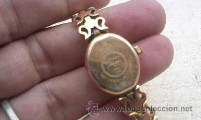 Relojes: Antiguo reloj rotary veneto made in SUISSE Bañado en oro. Para señora. Todo original. - Foto 6 - 38503617