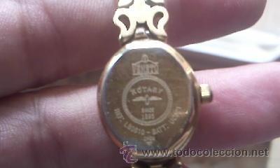 Relojes: Antiguo reloj rotary veneto made in SUISSE Bañado en oro. Para señora. Todo original. - Foto 7 - 38503617
