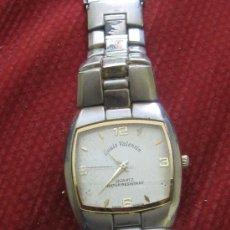Relojes: RELOJ SEGUNDA MANO MARCA LOUIS VALENTIN QUARTZ WATER RESISTANT . Lote 38884779