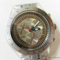 Relojes: RELOJ MARCA WATCH - NO SWATCH - FUNCIONANDO. Lote 39413491