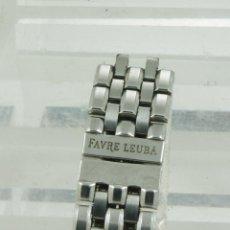 Relojes: ARMYS ACERO FAVRE LEUBA 18MM. Lote 39880839