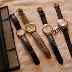 Relojes: LOTE DE RELOJES DIVERSOS - ENVIO GRATIS A ESPAÑA . Lote 40162452