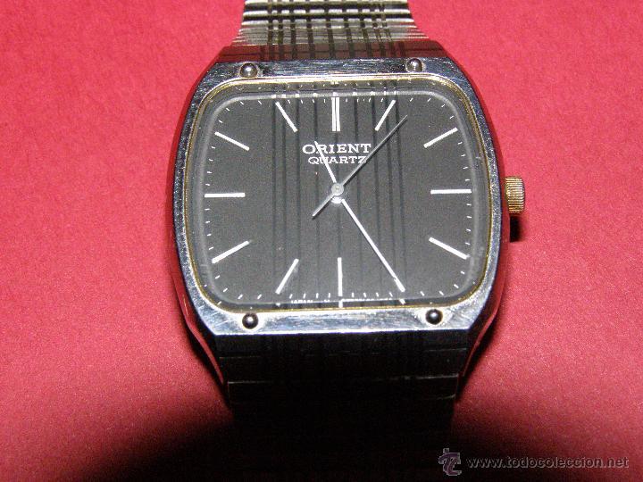 Relojes: Antiguo Reloj Orient - Quarz - Tipo Cadete - Funcionando - - Foto 5 - 40379589