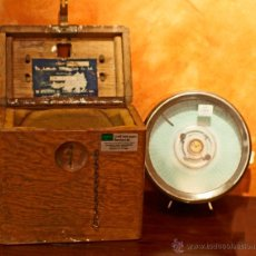 Relojes: ANTIGUO RELOJ DE VIGILANTE COULET IMPERATOR CON CAJA DE MADERA. 20,5 X 12,5 X 20 CMS. ALTURA.. Lote 40459025