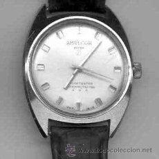 Relojes: RELOJ CABALLERO CARGA MANUAL - AMULCOR (FUNCIONANDO). Lote 40715057