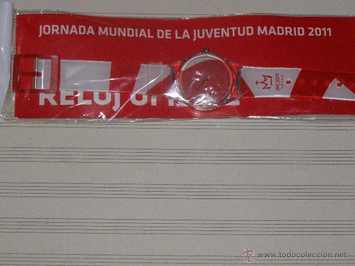 RELOJ JMJ 2011 - SIN DESPRECINTAR - JORNADAS MUNDIALES DE LA JUVENTUD MADRID 2011 (Relojes - Relojes Actuales - Otros)
