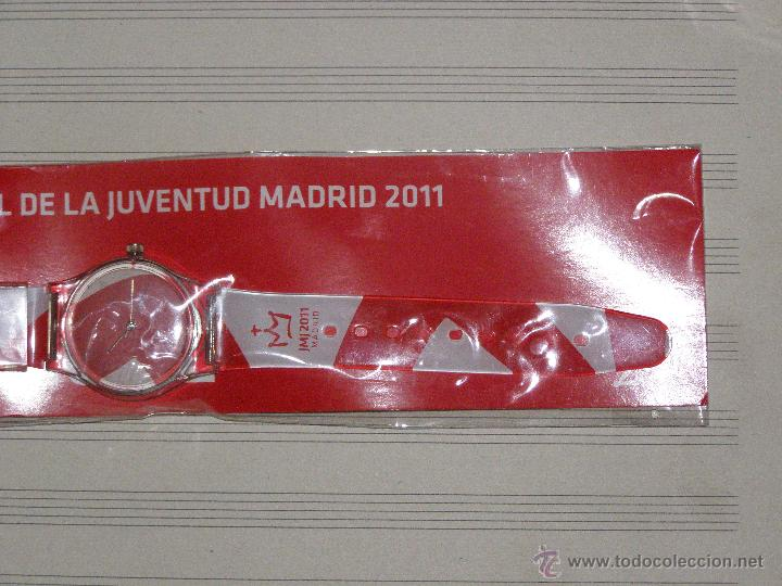Relojes: Reloj JMJ 2011 - sin desprecintar - Jornadas Mundiales de la Juventud Madrid 2011 - Foto 2 - 40720260
