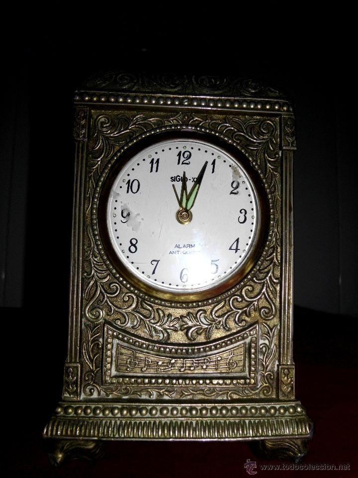 RELOJ DE CALAMINA DE CARGA MANUAL (Relojes - Relojes Actuales - Otros)