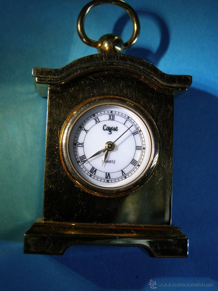 Relojes: Reloj miniatura dorado - Foto 2 - 188621411