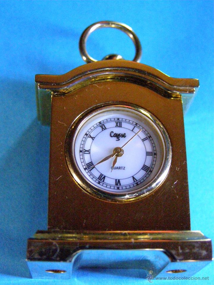 Relojes: Reloj miniatura dorado - Foto 3 - 188621411