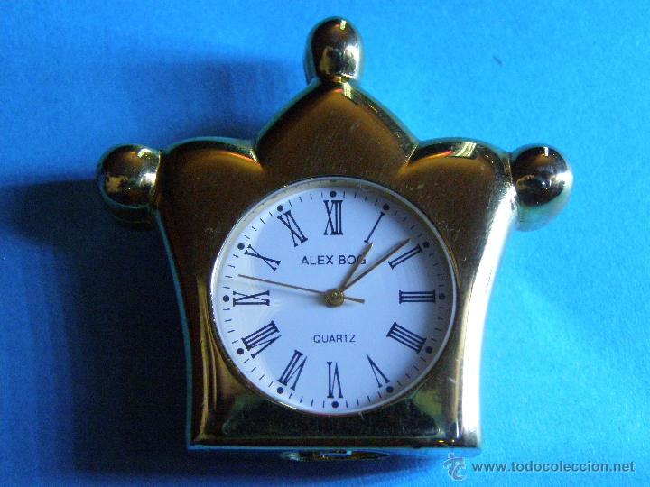 RELOJ MINIATURA DORADO (Relojes - Relojes Actuales - Otros)