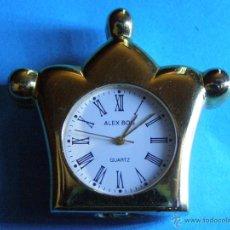 Relojes: RELOJ MINIATURA DORADO. Lote 188621412