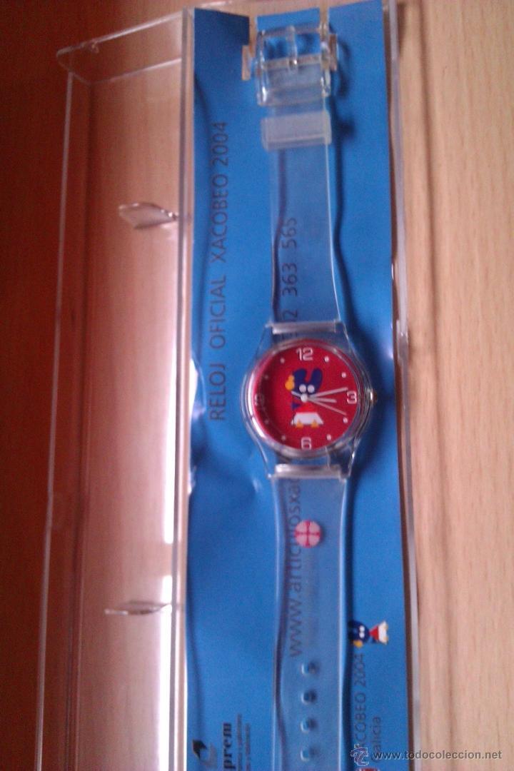 BONITO RELOJ XACOBEO 2004 COLECCIONISMO MUY DIFICIL DE CONSEGUIR (Relojes - Relojes Actuales - Otros)