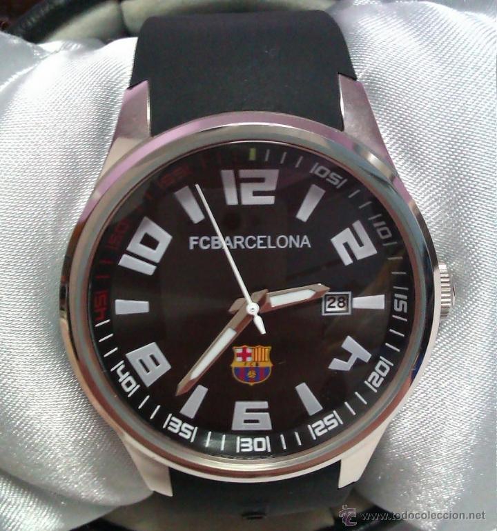 RELOJ FC BARCELONA MUY BONITO Y DISEÑO SPORT (Relojes - Relojes Actuales - Otros)
