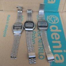 Relojes: LOTE 3 RELOJ RETRO,AÑOS 80. Lote 41452484
