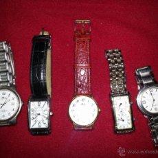 Relojes: LOTE DE RELOJES . Lote 41459897