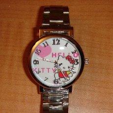 Relojes: RELOJ HELLO KITTY CON CORREA METALICA. Lote 41570840