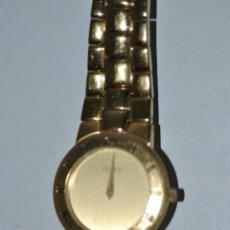 Relojes: RELOJ GUCCI ORIGINAL CHAPADO EN ORO. Lote 42056786