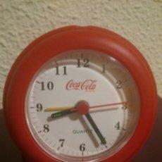Relojes: RELOJ DESPERTADOR DE COCA COLA. AÑOS 90. Lote 42056823