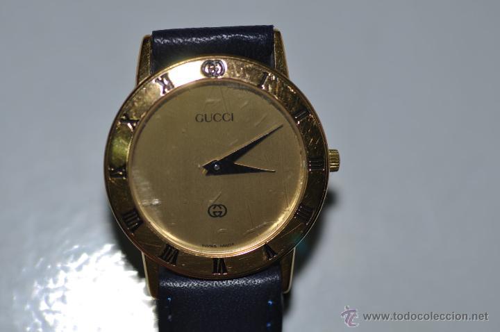 Relojes: reloj GUCCI ORIGINAL CHAPADO EN ORO 3000 J - Foto 2 - 42056850