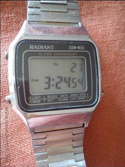 RELOJ RADIANT DIGITAL (Relojes - Relojes Actuales - Otros)