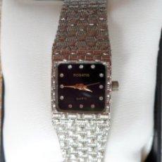 Relojes: ROGATIS RELOJ DE QUARTZ PARA MUJER, CORREA DE ACERO INOXIDABLE. Lote 42253635