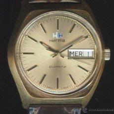 Relojes: HERMA RELOJ DE CABALLERO SUIZO. (CUARZO) (NOS = NEW OLD STOCK). Lote 42339022