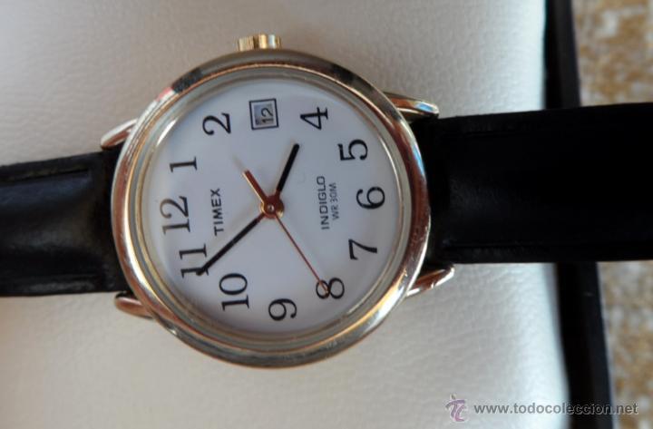 64b8f7f9c877 Relojes  Timex Indiglo Reloj para mujer