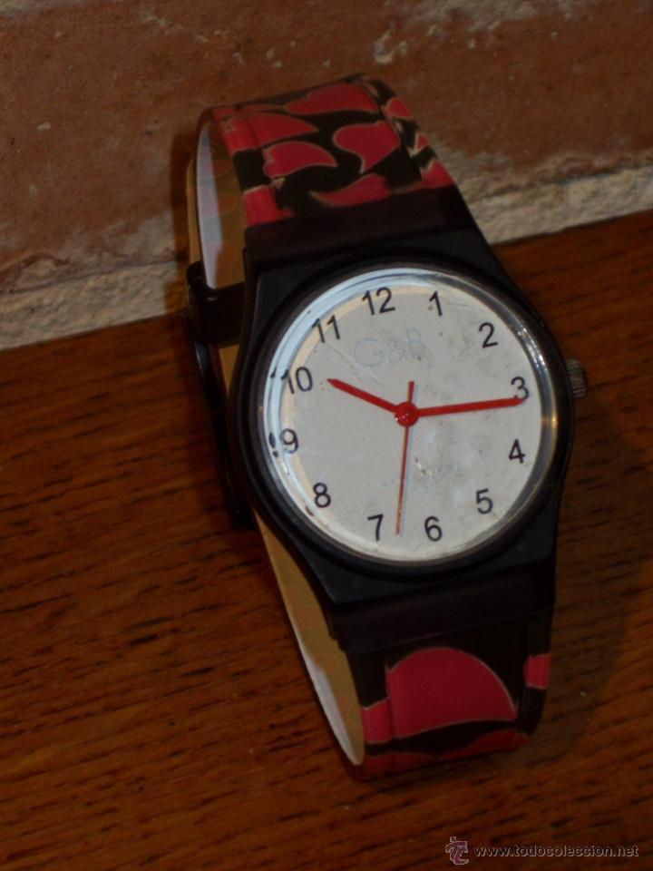 Relojes: RELOJ DE PULSERA MARCA G&B WATER RESISTEN,NUEVO. - Foto 3 - 42467404