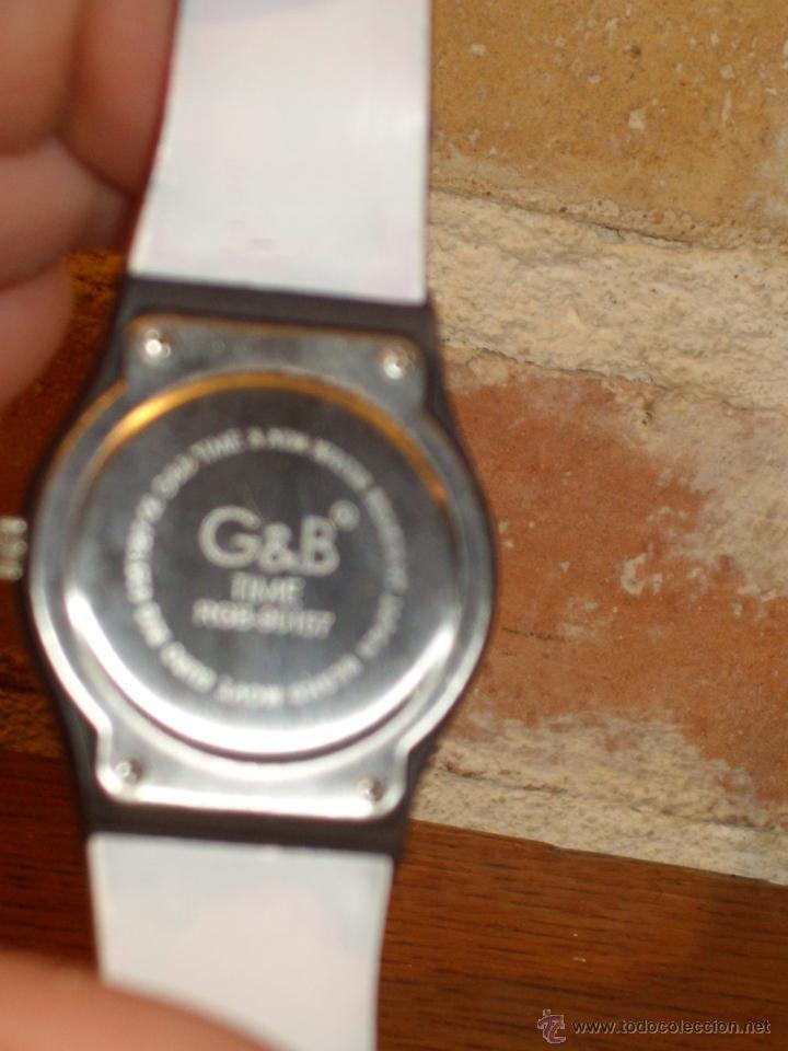 Relojes: RELOJ DE PULSERA MARCA G&B WATER RESISTEN,NUEVO. - Foto 4 - 42467404