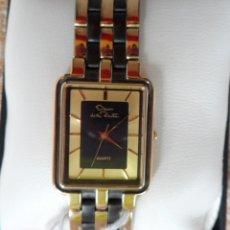 Relojes: OSCAR DE LA RENTA QUARTZ RELOJ PARA SEÑORA, CORREA DE DOBLE TONALIDAD, SWISS MOVEMENT, BATERÍA NUEVA. Lote 81732174