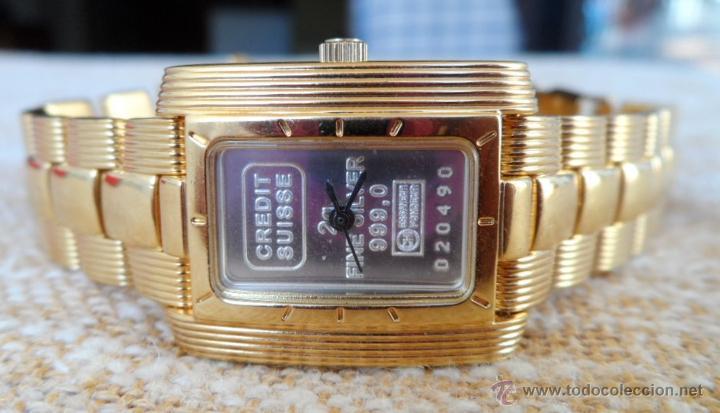 Relojes: Doris Blasser Reloj para señora, Correa de acero inoxidable dorada, Batería nueva - Foto 2 - 42496812
