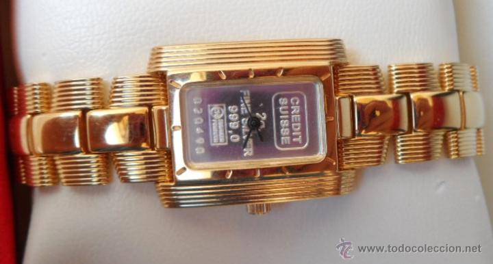 Relojes: Doris Blasser Reloj para señora, Correa de acero inoxidable dorada, Batería nueva - Foto 6 - 42496812