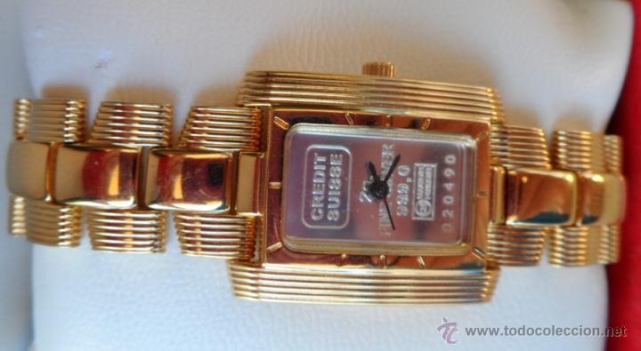 Relojes: Doris Blasser Reloj para señora, Correa de acero inoxidable dorada, Batería nueva - Foto 7 - 42496812