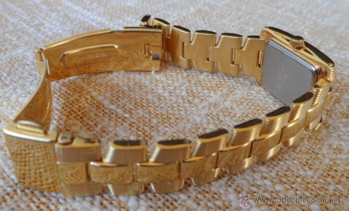 Relojes: Doris Blasser Reloj para señora, Correa de acero inoxidable dorada, Batería nueva - Foto 9 - 42496812