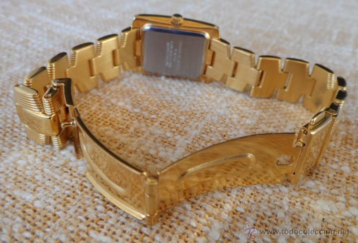 Relojes: Doris Blasser Reloj para señora, Correa de acero inoxidable dorada, Batería nueva - Foto 10 - 42496812