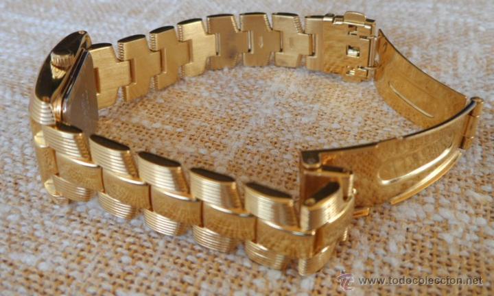 Relojes: Doris Blasser Reloj para señora, Correa de acero inoxidable dorada, Batería nueva - Foto 11 - 42496812