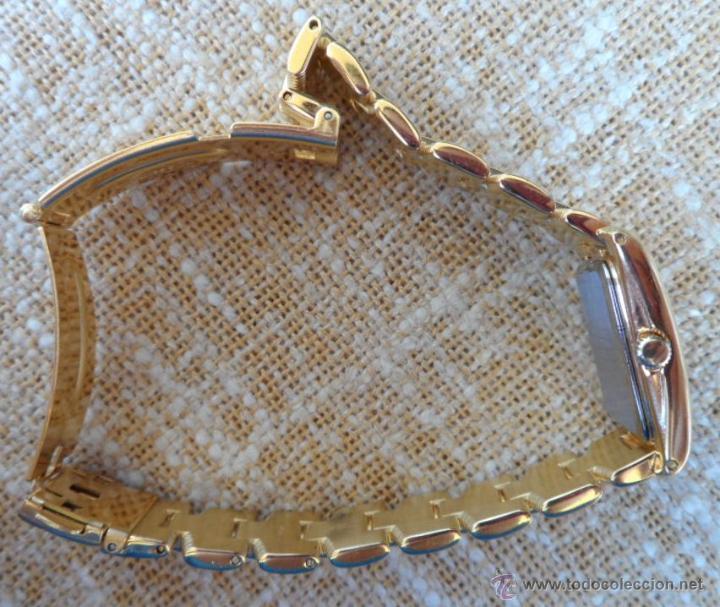 Relojes: Doris Blasser Reloj para señora, Correa de acero inoxidable dorada, Batería nueva - Foto 12 - 42496812