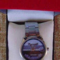 Relojes: PLYMOUTH BARRACUDA CARRERA SPORT RELOJ PARA HOMBRE, BATERÍA NUEVA, CORREA DE ACERO INOXIDABLE. Lote 42675037
