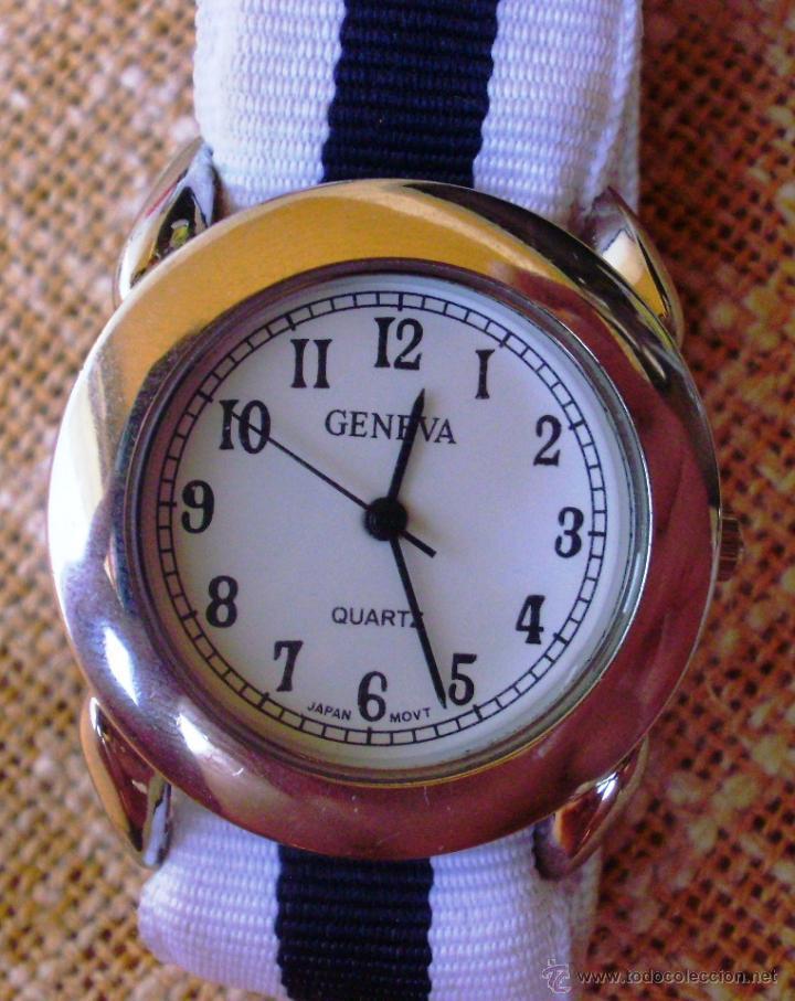 Reloj tela mujer